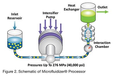 Production of Nanoemulsion Adjuvants using High Shear Fluid